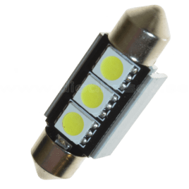 LEDSON LED spollampa Canbus , 36 mm / 39 mm
