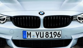 BMW 4 Series Black Kidney Grilles Original