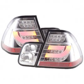 BMW E46 LED Baklampor Krom 1998-2006