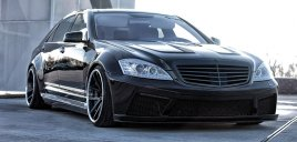 Mercedes S Klass W221 Black Series Kjolpaket