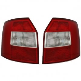 Audi A4 B6 Tail Lights Red (Avant)
