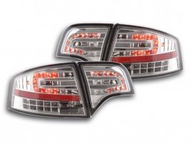 Audi A4 B7 LED Baklampor Krom (Sedan)