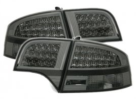 Audi A4 B7 LED Baklampor Smoke Svart (Sedan)