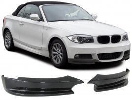 BMW E82 E88 Performance Kolfiber Fram Splitters