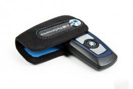 BMW carbon fiber key case
