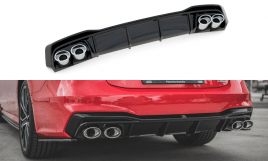 Audi A7 S7 C8 Rear Diffuser With Exhaust pipe