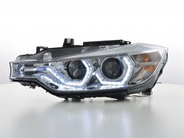 BMW F30 F31 LED Angel Eyes Strålkastare (Facelift Look)