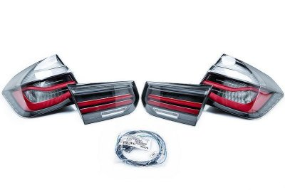 BMW F30 F80 LED M Performance Baklampor Black Line Original