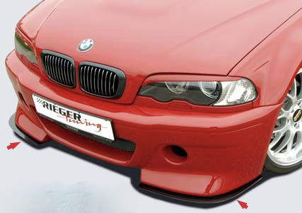 Bmw E46 Csl Carbon Fiber Front Spoiler Lip