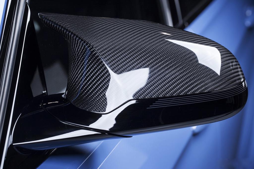 Bmw F30 F31 F80 M3 Look Carbon Fiber Mirror Covers