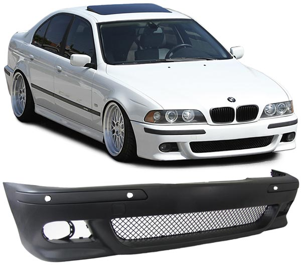bmw e39 m5 front bumper body kit e39 95 04. Black Bedroom Furniture Sets. Home Design Ideas