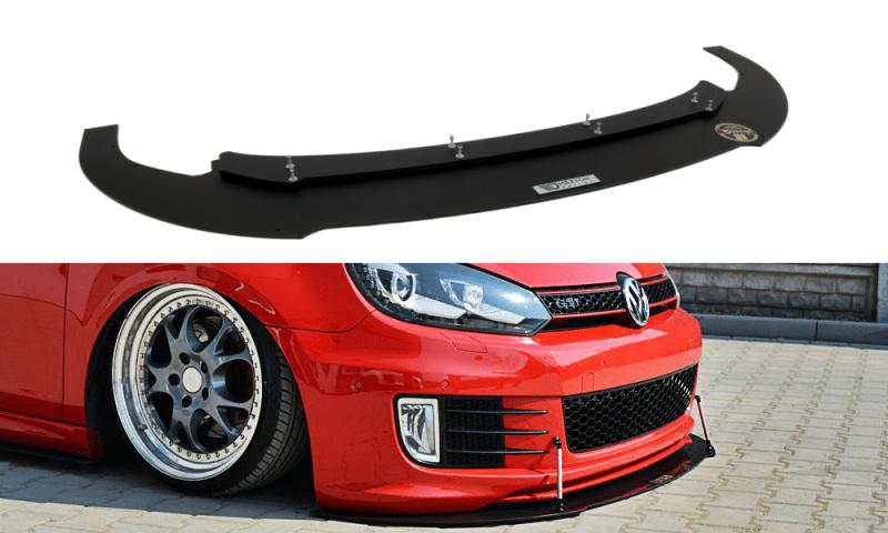 Volkswagen Golf 6 GTI Front Splitter Lip