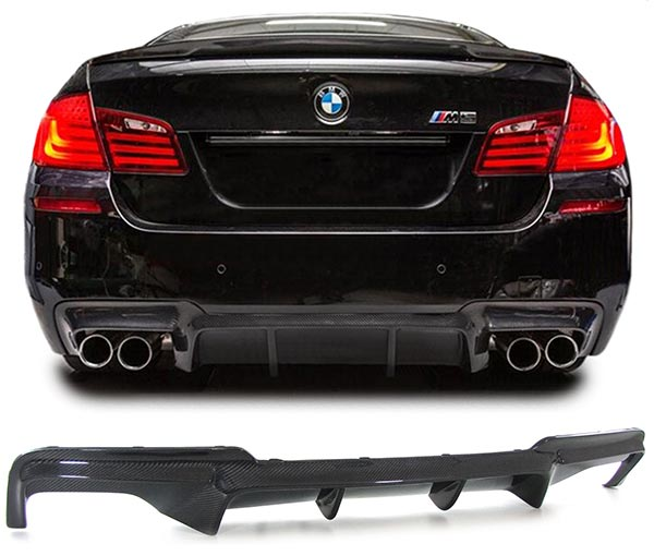 BMW F10 M5 Carbon Fiber Rear Diffuser M Performance