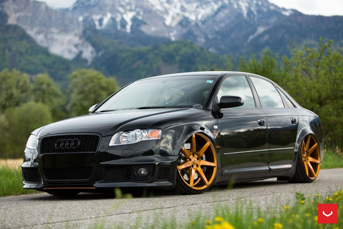 audi a4 b7 rs front bumper 2004 2008 body kit. Black Bedroom Furniture Sets. Home Design Ideas
