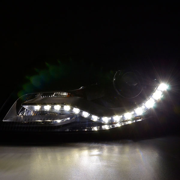 Audi A4 B8 Styling DRL Headlight Chrome