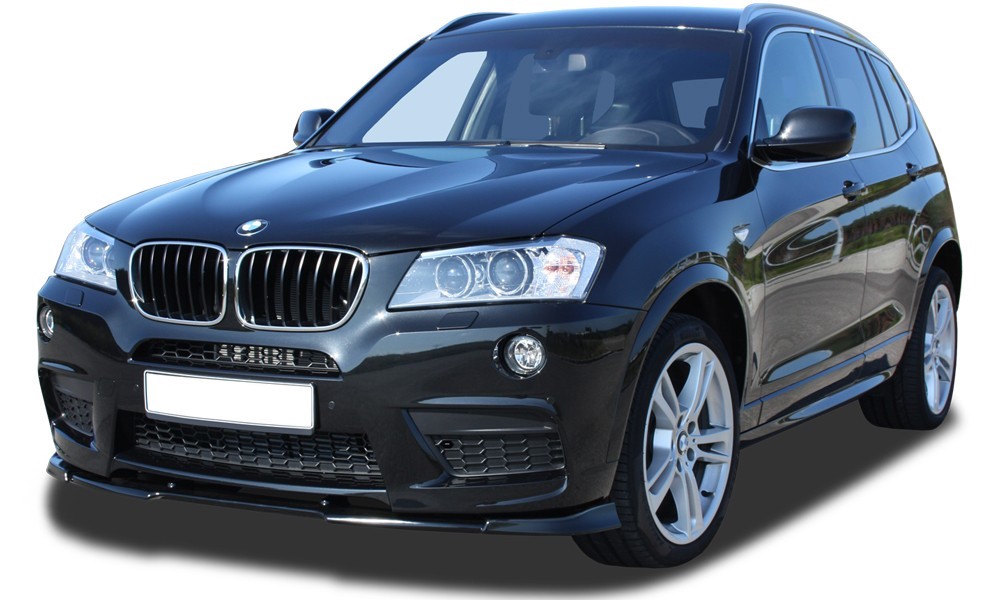 bmw x3 f25 front lip m sport body kit. Black Bedroom Furniture Sets. Home Design Ideas
