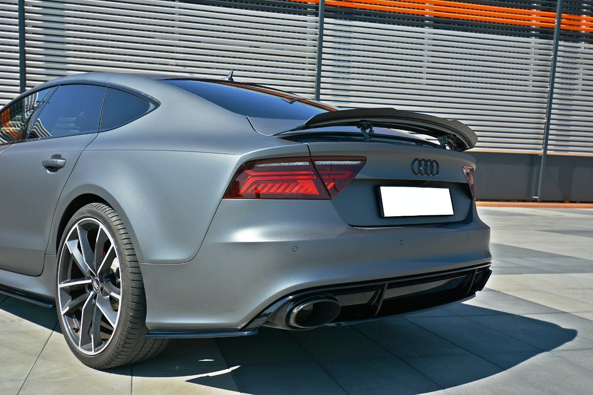 Audi Rs7 C7 Rear Spoiler Wing C7 2010 2017 A7