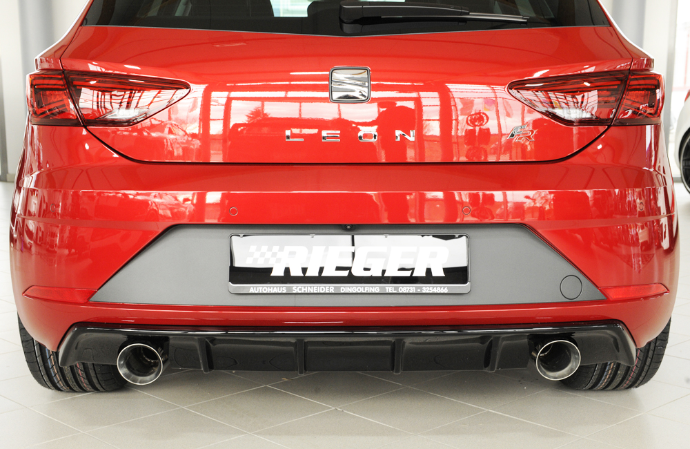 Seat Leon FR 5F Rear Diffuser 2017-2019