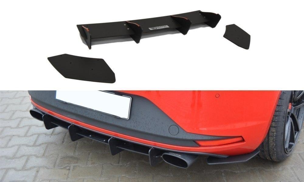 Seat Leon Cupra 5F Rear Splitter Diffuser 2012-2016