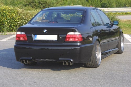 BMW E39 M5 >> Bmw E39 M5 E60 Look Rear Bumper